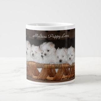 Maltese, Puppy, Love,  Kitchen, Coffee, Tea Large Coffee Mug