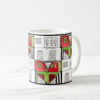 Maltese Townhouses Coffee Mug