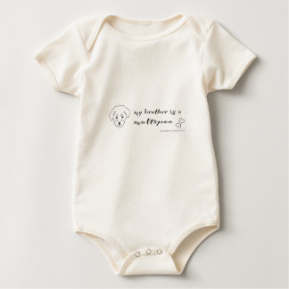 maltipoo baby bodysuit