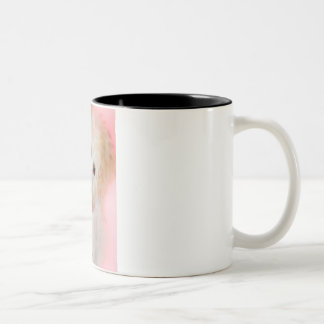 maltipoo Two-Tone coffee mug