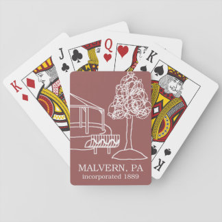 Malvern PA - Burke Park playing cards
