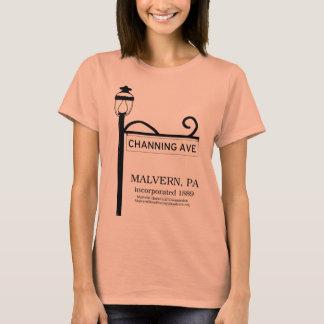 Malvern PA - Channing Avenue t-shirt