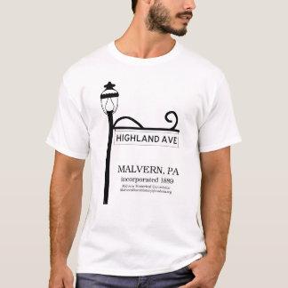 Malvern PA - Highland Avenue t-shirt