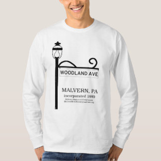 Malvern PA - Woodland Avenue t-shirt