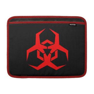 Malware Symbol Macbook Air Sleeve