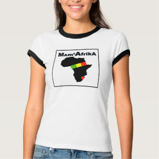 MAM' AFRIKA T-SHIRT, i Art and Design T-Shirt