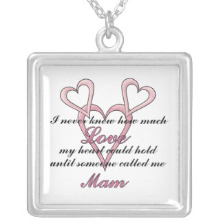 Mam (I Never Knew) Mother's Day Necklace