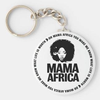 Mama Africa Key Key Chain