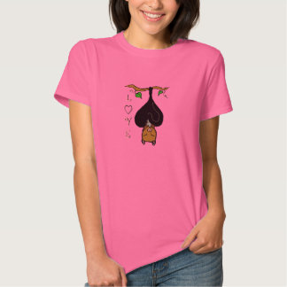 """Mama and Baby Fruit Bat """"Mother's Love"""" Tee"""