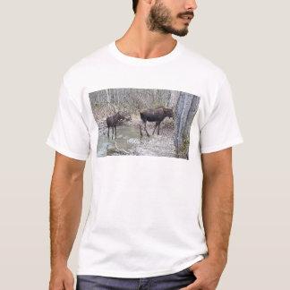 Mama and Baby Moose T-Shirt