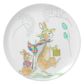 Mama and me plate