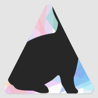 Mama and Papa Swag Triangle Sticker