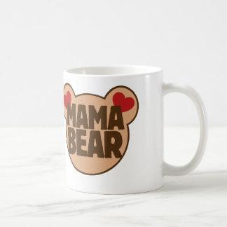 Mama bear basic white mug