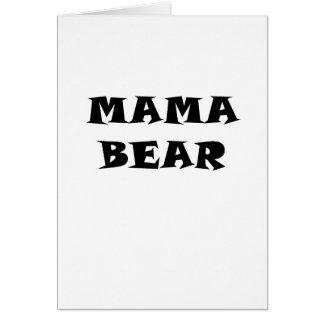 Mama Bear Card