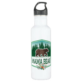 Mama Bear Hiking Water Bottle