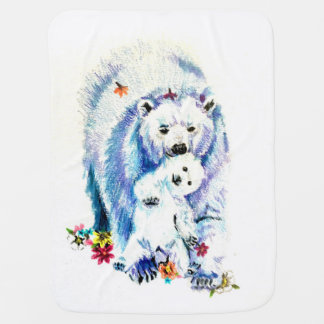Mama Bear Lovin Baby Blanket