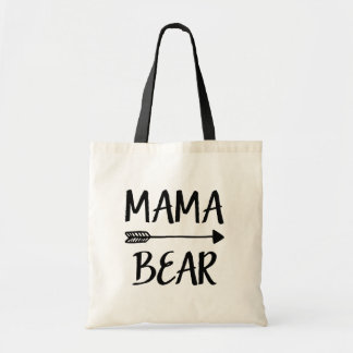 Mama Bear mom tote bag