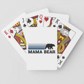 Mama Bear Playing Cards