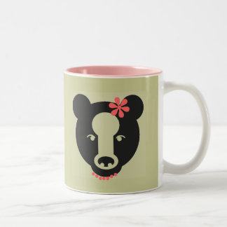 MAMA BEAR Two-Tone COFFEE MUG