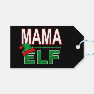 Mama Elf | Team Elf Christmas Holiday Family | Gift Tags
