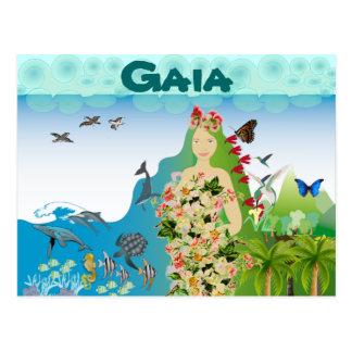 Mama Gaia postcard