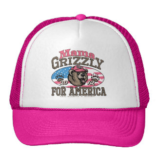 Mama Grizzly Gear for Patriotic Moms Cap