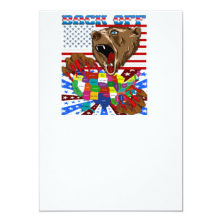 Mama-Grizzly-Set-1 13 Cm X 18 Cm Invitation Card