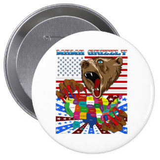 Mama-Grizzly-Set-2 10 Cm Round Badge