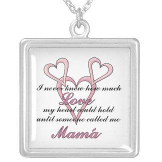 Mamá (I Never Knew) Mother's Day Necklace
