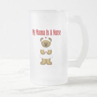 Mama Is A Nurse Bear Mugs