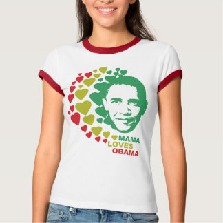 Mama Loves Barack Obama T-Shirt