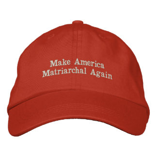 #MAMA Make America Matriarchal Again Embroidered Hat