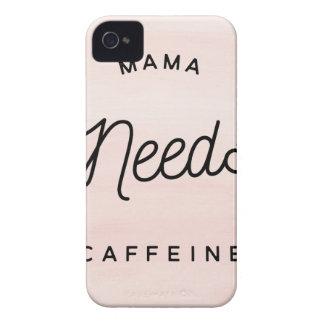Mama needs caffeine iPhone 4 case