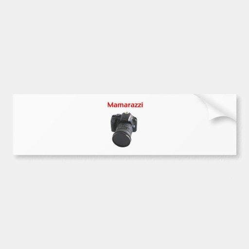 Mamarazzi Photographer Bumper Sticker