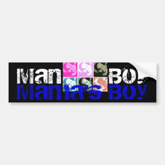 Mama's Boy Bumper Sticker