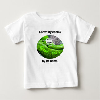 Mamba Snake - Know Thy Enemy By Its Name Baby T-Shirt