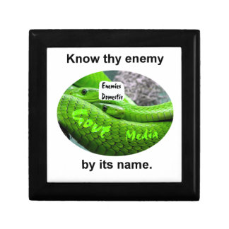 Mamba Snake - Know Thy Enemy By Its Name Gift Box