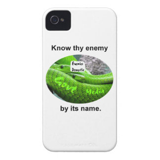 Mamba Snake - Know Thy Enemy By Its Name iPhone 4 Cases