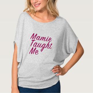 Mamie Taught Me Women's Swoop Tee