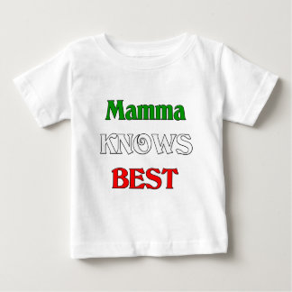 Mamma Knows Best Baby T-Shirt