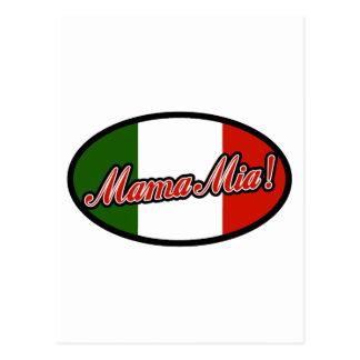 Mamma Mia! Postcard