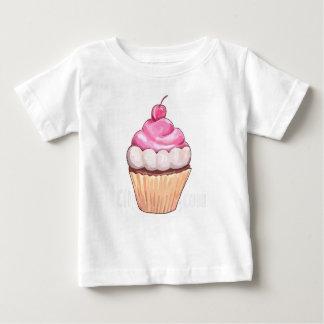 mamma's cherry cupcake baby T-Shirt