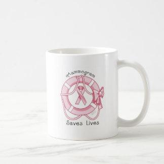Mammogram Saves Lives - Breast Cancer Awareness Mugs