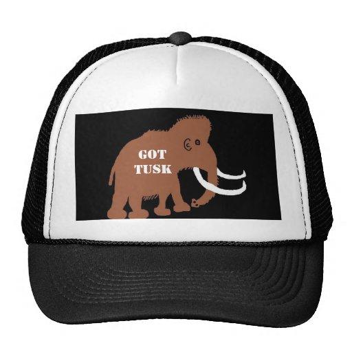MAMMOTH (2), GOT TUSK TRUCKER HATS