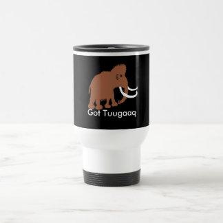 MAMMOTH (2), Got Tuugaaq, tusk, ivory 15 Oz Stainless Steel Travel Mug