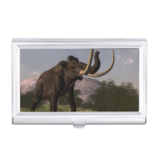 Mammoth - 3D render Business Card Holder