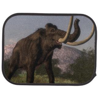 Mammoth - 3D render Car Mat