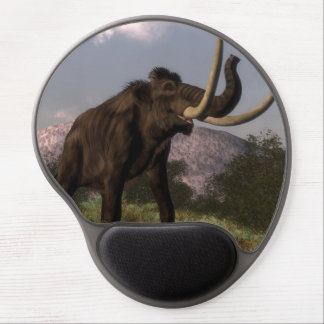 Mammoth - 3D render Gel Mouse Pad
