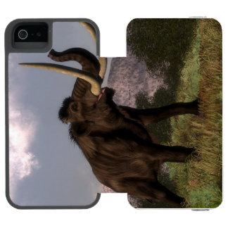 Mammoth - 3D render Incipio Watson™ iPhone 5 Wallet Case
