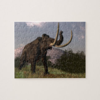 Mammoth - 3D render Jigsaw Puzzle